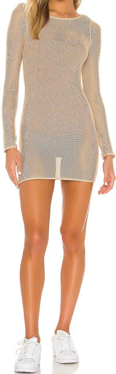 Nude Kilara Mini Dress-h:ours