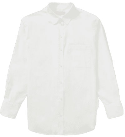 Off-White The Silky Cotton Oversized Shirt
