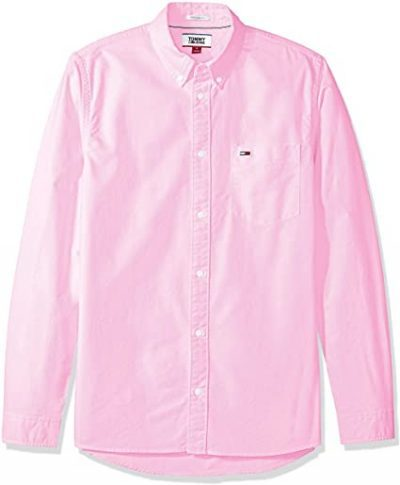 Oxford Pink Button Down Shirt-Tommy Hilfiger