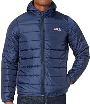 Peacoat Pavo Quilted Jacket-Fila