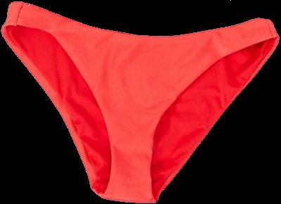 Red Underwired Bikini Top