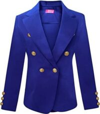 Royal Double Breasted Blazer-OrlyCollection