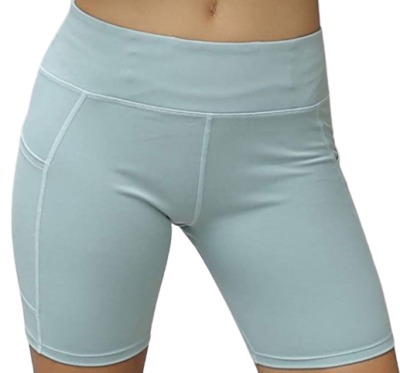 Sage High-Waist Running Shorts