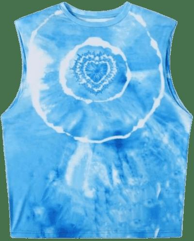 Tie Dye Tank Top-Shein