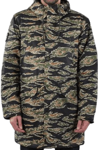 Tiger Camo Blizzard Poplin Jacket