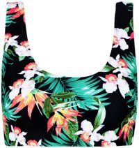 Tropical Bikini Top-Boohoo