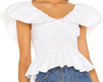 White Abla Top-LPA