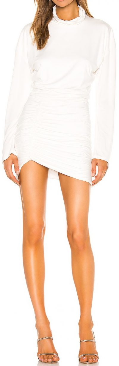 White Ivana Mini Dress-Lovers + Friends