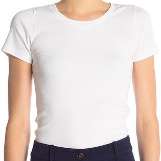 White PerfectFit Short Sleeve T-Shirt
