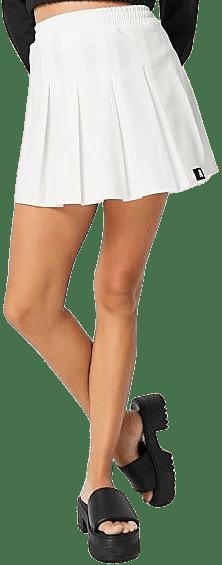 White Pleated Mini Tennis Skirt-Asos Design