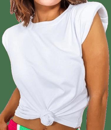 White Shoulder On - Top-DLSB