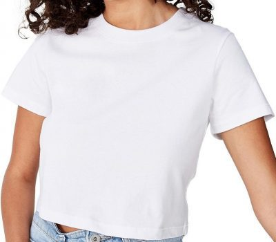 White The One Baby Tee-Cotton On