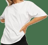 White Ultimate Oversized T-Shirt-Asos Design