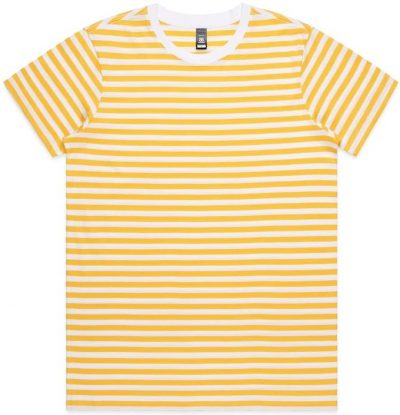 Yellow.Maple Stripe T-Shirt