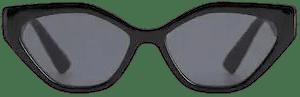 Black Acetate Frame Sunglasses-Mango