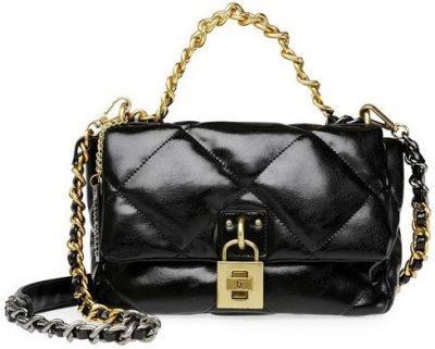 Black Bterra Black Handbag-Steve Madden