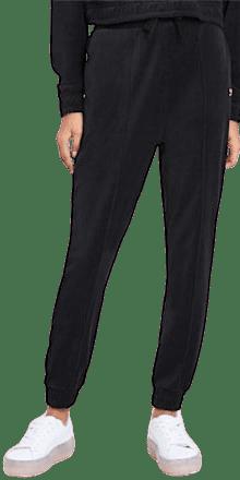 Black Downtown Tapered Sweatpants-Puma