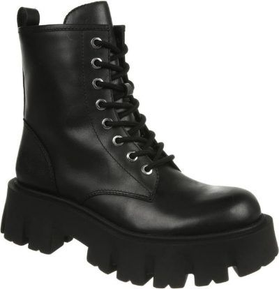Black Gilligan Combat Boot-Sam Edelman