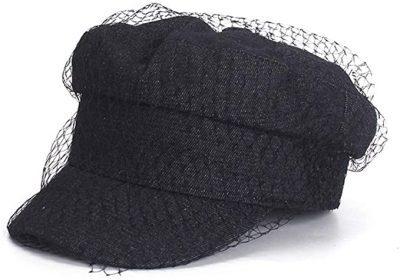 Black Honeycomb Cap