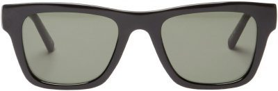 Black Le Phoque Square Sunglasses-Le Specs