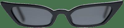 Black Le Skinny Sunglasses-Poppy Lissiman