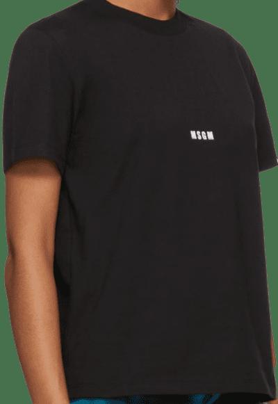 Black Micro Logo T-Shirt