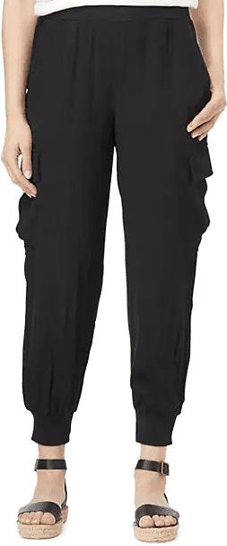 Black Mya Cargo Pants