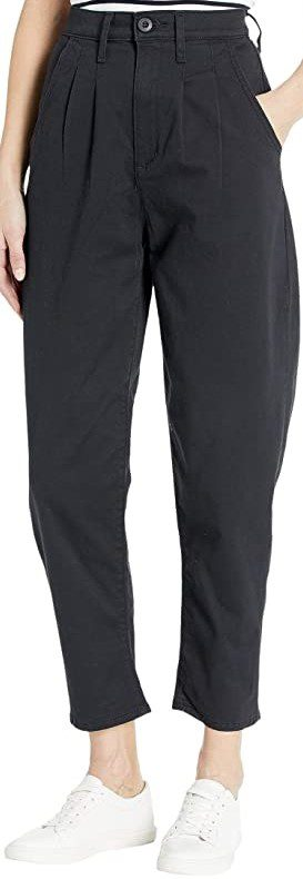 Black Pleated Balloon Pants-Levi's