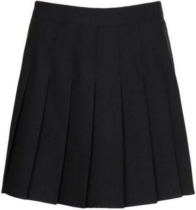 Black Pleated Super Mini Tennis Skirt-Boohoo