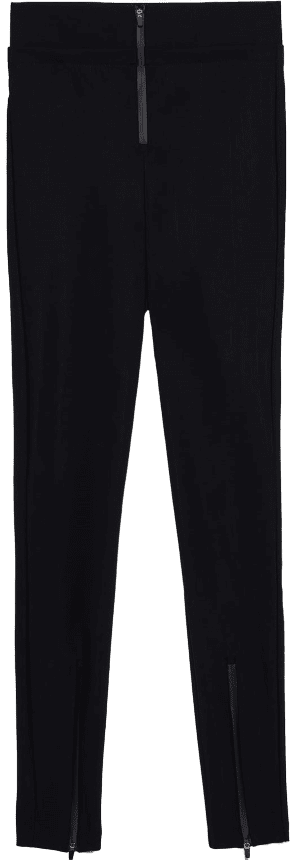 Black Power Stretch Leggings