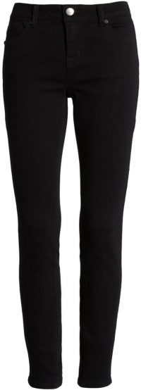Black RE Denim Ankle Skinny Jeans-1822 DENIM