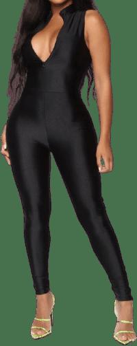 Black Sleepless Town Jumpsuit-Fashion Nova