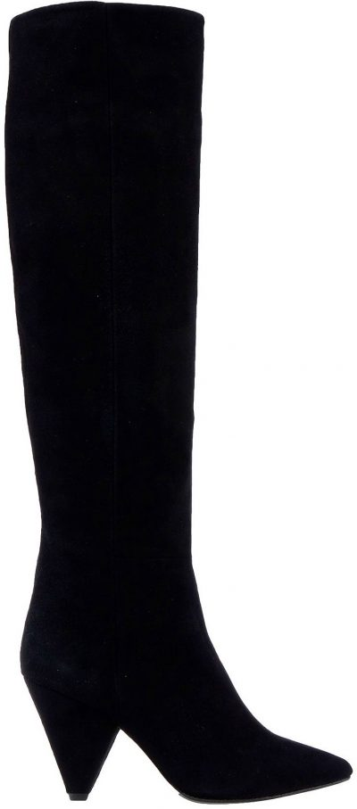 Black Soft Leather Boots-The Seller