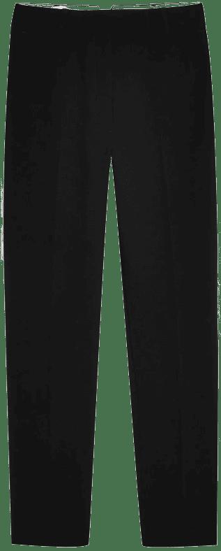 Black Straight Cigarette Pants-Topshop