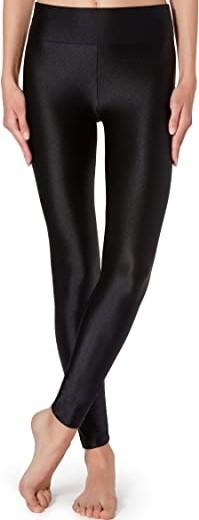 Black Super Shiny Leggings