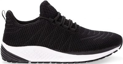 Black Tour Knit Sneaker-Propet