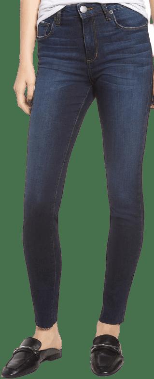 Blue Ellie High-Waist Ankle Jeggings