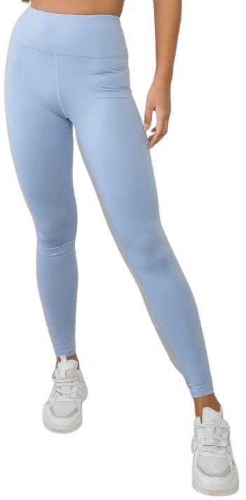Blue Gym Leggings-Missguided