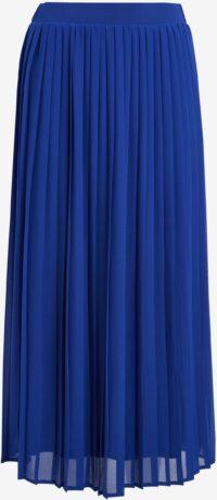 Blue Pleated Skirt-Next