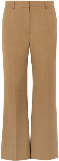 Brown Casual Flare Pants-Joseph