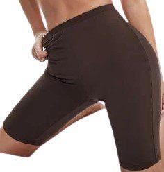 Brown Cycling Shorts-Shein