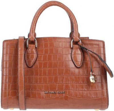 Brown Leather Handbag-Michael Kors