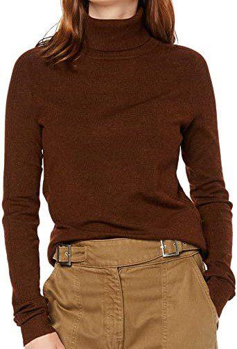 Brown Turtleneck Sweater-find.