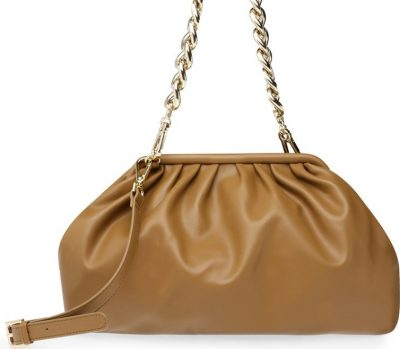 Camel Fabric Brevive Bag