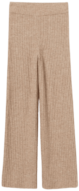 Camel Knit Pants