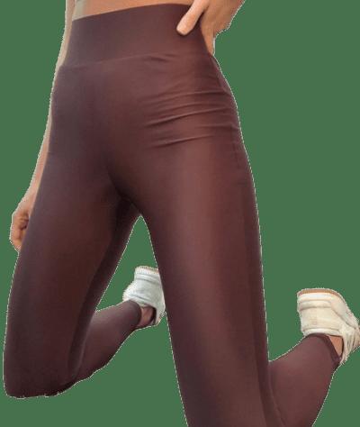 Chocolate Deep Waistband Legging-Asos Design