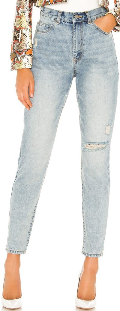 Downtown Blue Nora Straight Jeans-Dr. Denim