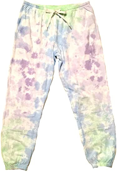 Grape Burst Tie Dye Sweatpants