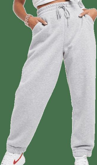 Gray Marl Super Oversized Sweatpants-Asos Design