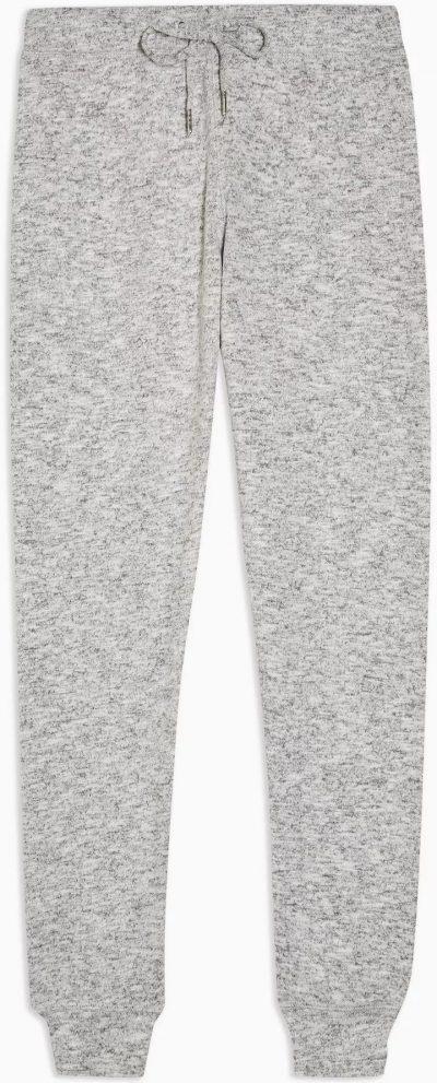 Gray Marl Super Soft Sweatpants-Topshop